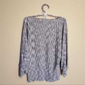 Chico's Tops - Chico's sparkly silver sweater top size 2(L/12)
